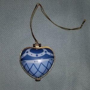 Heart Shaped Trinket/Box Ornament